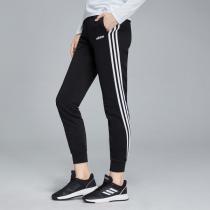 adidas女服運動長褲2019新款訓練收口針織運動休閑運動服DP2380