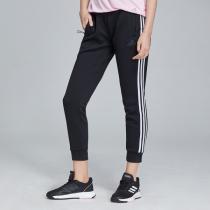 adidas女服运动长裤收口休闲运动服DW5728