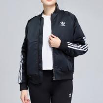 adidas阿迪达斯三叶草女基础运动休闲外套DV2666