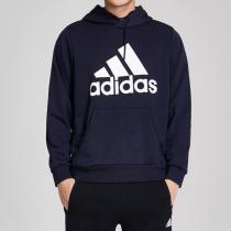 adidas男服卫衣连帽套头休闲运动服DT9943