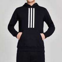 adidas男服卫衣连帽套头休闲运动服DZ0453