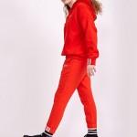 adidas阿迪達斯三葉草女裝春季新款運動長褲跑步訓練褲DU7186