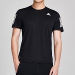 adidas男服短袖T恤2020新款跑步訓練健身運動服DX1312