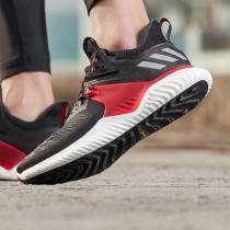 adidas男鞋跑步鞋ALPHABOUNCE休閑運動鞋G28011