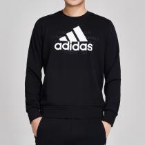 adidas男服卫衣圆领套头衫休闲运动服DV3062