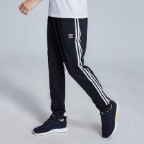 adidas阿迪達斯三葉草男子運動長褲收口休閑運動服CW1275