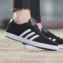 adidas女鞋板鞋网球文化休闲运动鞋B44619