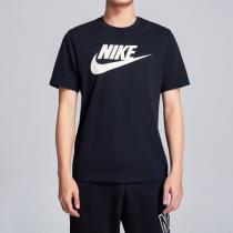 NIKE耐克男裝短袖T恤春季新款圓領針織跑步休閑運動服AR5005