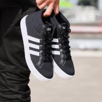 adidas阿迪达斯男子板鞋高帮帆布休闲运动鞋BB9890