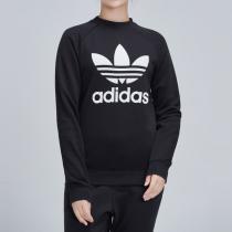 Adidas阿迪达斯三叶草女装春季新款运动服圆领卫衣DV2612