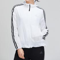 adidas女服外套夹克梭织休闲运动服DW4545