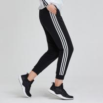 adidas女服運動長褲2019新款收口休閑運動服DW4604