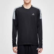 adidas阿迪達斯男子長袖T恤跑步訓練運動服CZ8097