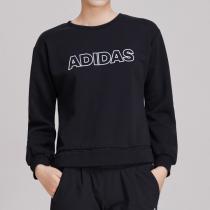 adidas女服卫衣圆领套头衫休闲运动服EA3134