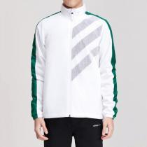 Adidas阿迪达斯NEO男装春季新款运动休闲跑步训练外套DW8117