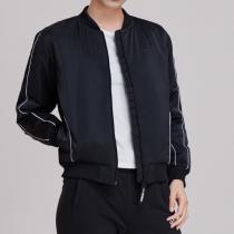 Adidas阿迪达斯NEO女装春季新款运动休闲立领棉服外套DW8310