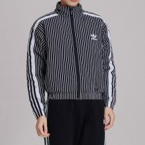 adidas阿迪达斯三叶草女装春季新款运动休闲棉服夹克DY0873
