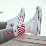 Converse匡威男女鞋帆布鞋常青款學生情侶高幫休閑運動鞋101009