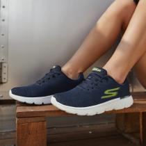 Skechers斯凯奇男鞋跑步鞋轻质网布时尚运动鞋54354