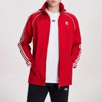 Adidas阿迪达斯三叶草男装春季新款连帽运动休闲外套DV1587