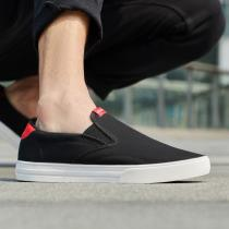 adidas男鞋板鞋帆布懒人一脚蹬休闲运动鞋EE7837