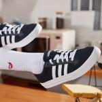 adidas阿迪達斯男子板鞋透氣休閑運動鞋AW3890