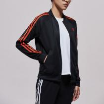 adidas阿迪达斯三叶草女装运动服跑步外套休闲夹克DU9941