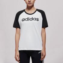 Adidas阿迪達斯NEO女裝LOGO運動短袖休閑圓領T恤衫DW7947