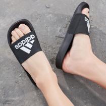 阿迪達斯男鞋拖鞋游泳沙灘浴室一字拖休閑運動鞋F34770