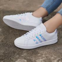 Adidas阿迪達斯NEO女鞋低幫板鞋運動鞋小白鞋F36485