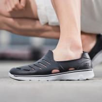 斯凱奇男鞋健步鞋輕便一腳蹬休閑洞洞涉水運動鞋54271