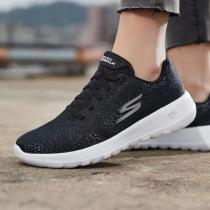 斯凱奇女鞋跑步鞋2019新款網面透氣低幫舒適健步休閑運動鞋15607