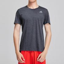 阿迪達斯男服短袖T恤跑步訓練健身運動服DQ2556