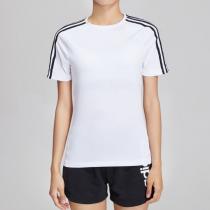 阿迪達斯女服短袖T恤綜合訓練跑步健身運動服EH8723