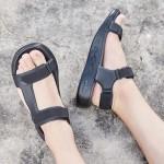 斯凱奇男鞋涼拖鞋輕質透氣輕便舒適休閑沙灘運動鞋55366