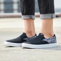 阿迪达斯男鞋板鞋一脚蹬帆布休闲运动鞋EE7278