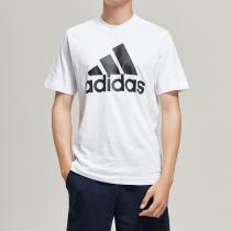 adidas男服短袖T恤圓領健身運動休閑運動服DT9929