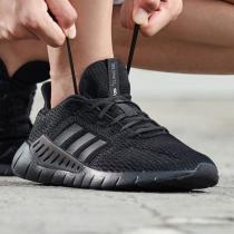阿迪达斯男鞋跑步鞋清风轻便网面透气跑步运动鞋F36323