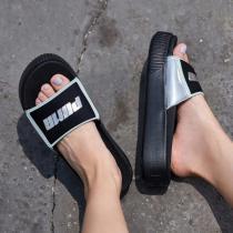 puma彪馬女鞋2019新款一字拖沙灘涼鞋拖鞋369421
