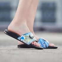 耐克女鞋拖鞋時尚花卉潮流一字休閑沙灘涼鞋運動鞋618919