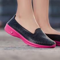 Skechers斯凱奇女鞋休閑鞋淺口輕質一腳蹬運動鞋14690