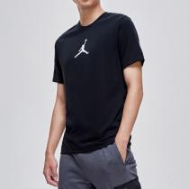 NIKE男裝短袖T恤Jordan經典LOGO圓領套頭針織運動服BQ6741