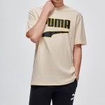 PUMA彪马男装刘昊然同款圆领短袖T恤596021