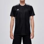 adidas阿迪達斯男子短袖T恤足球訓練休閑運動服CF0679