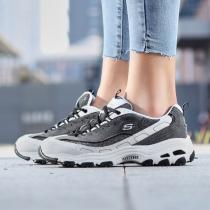 斯凱奇女鞋熊貓鞋D'LITES系帶復古時尚休閑運動鞋99999958