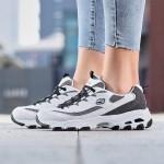 斯凱奇女鞋熊貓鞋2019新款D'LITES系帶復古時尚休閑運動鞋99999958