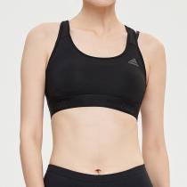 adidas女子中度支撐運動胸衣訓練健身跑步運動服CD9718