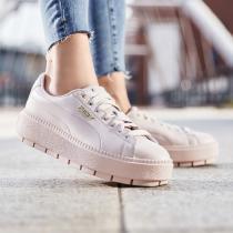 PUMA黑標女鞋Platform Trace Premium Logo Wns運動鞋休閑鞋板鞋369927