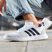 阿迪達斯男鞋板鞋休閑鞋網球運動鞋EE9663