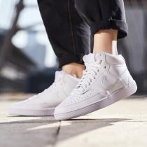 NIKE女鞋板鞋Court舒适高帮时尚小白鞋休闲运动鞋CD5436